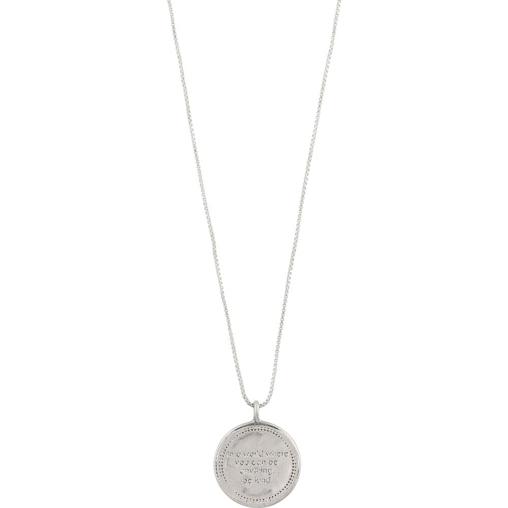 Caris Necklace - Silver Plated