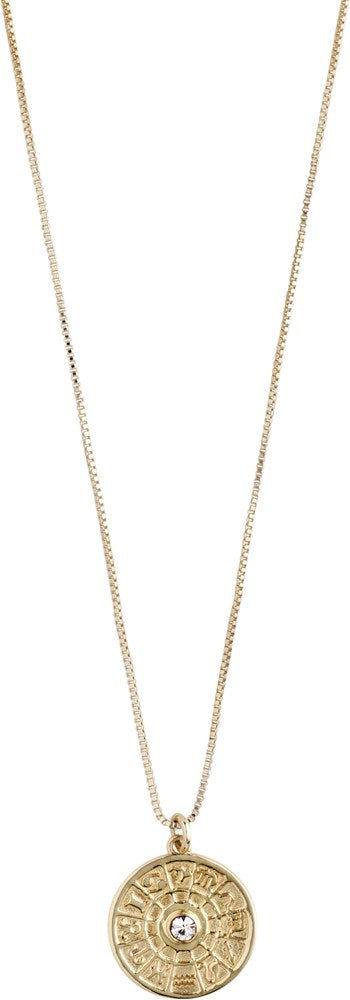 Fia Necklace - Gold Plated - Crystal
