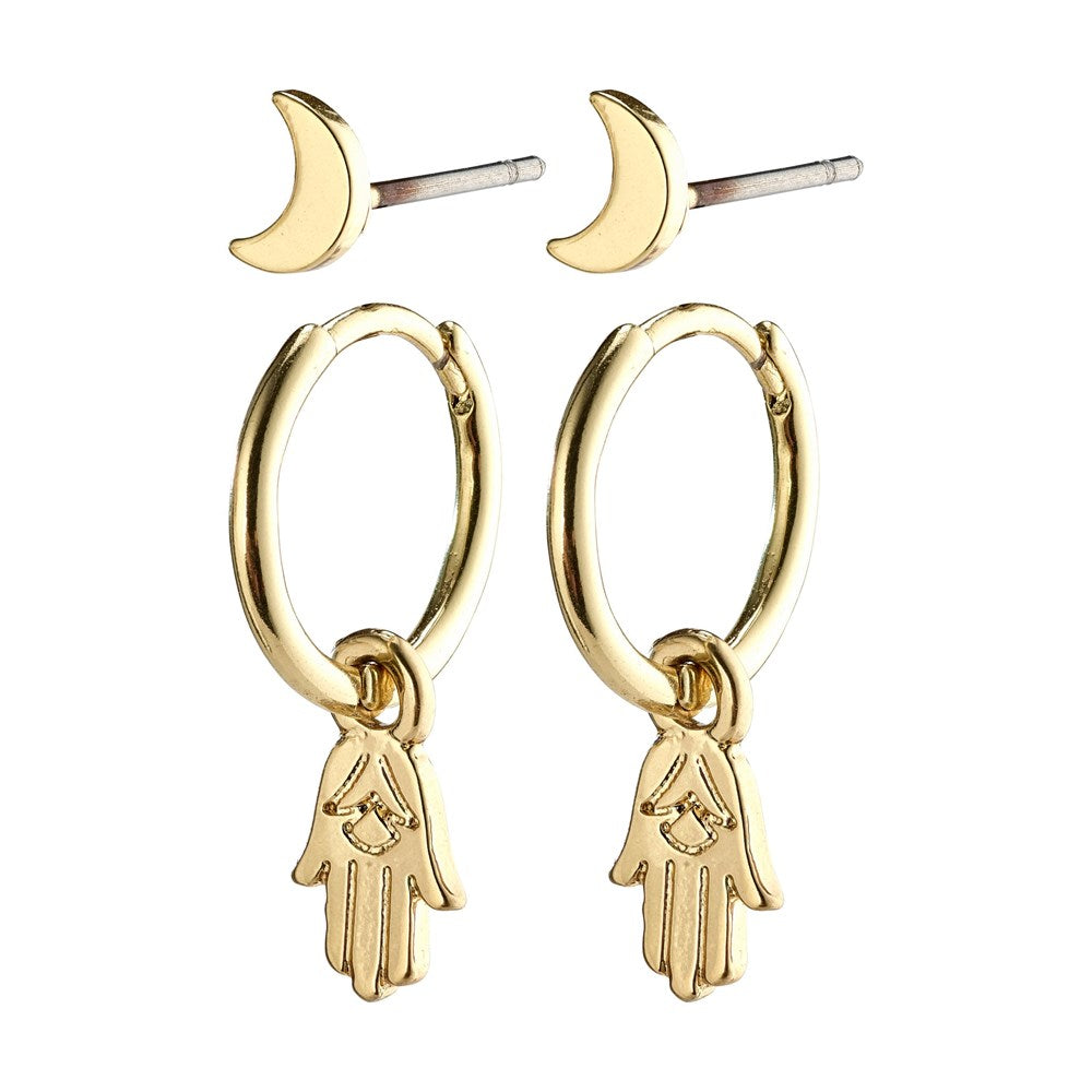 Nyla Earrings - Gold Plated