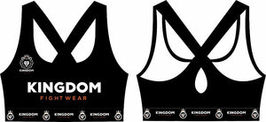 """Be Fierce""Athletic Bra (Pre-Order) - Kingdom Fightwear"