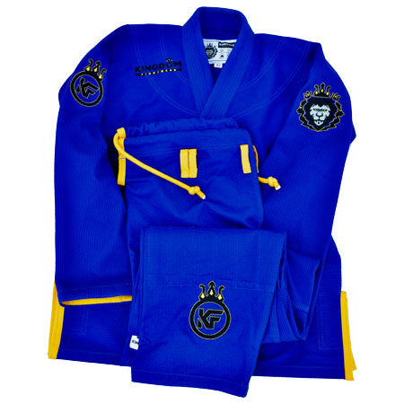 Womens Kingdom Kimono - Royal Blue Classic- Series XVII - Kingdom Fightwear