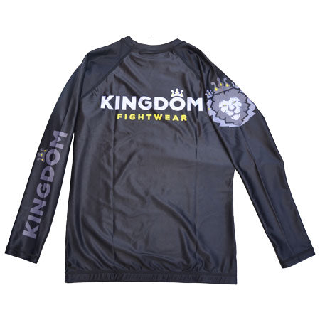 Mens Rash Guard Long Sleeve - Kingdom Fightwear