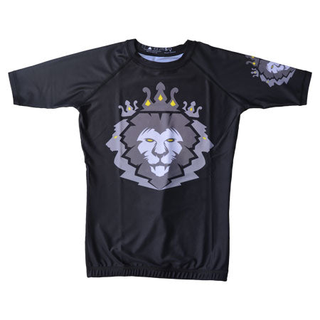 Mens Rash Guard Short Sleeve - Kingdom Fightwear