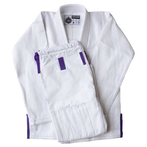Womens Standard White - Kingdom Fightwear