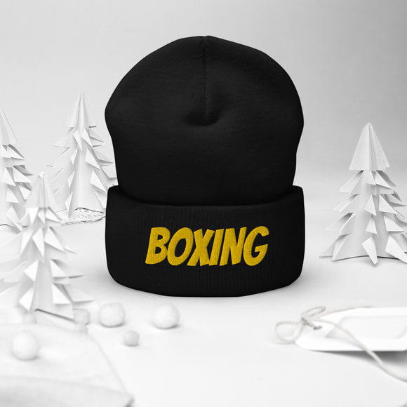 Kingdom Fightwear Boxing Cuffed Beanie - Kingdom Fightwear