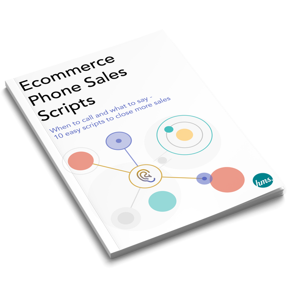 Ecommerce Phone Sales Scripts