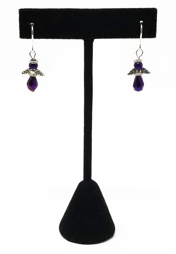 Zambarau Angel Earrings