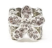 Crystal Dalia Ring