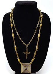 Malkia Gold Necklace