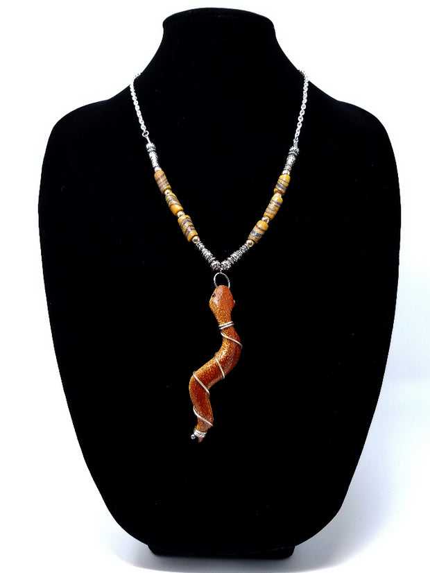 Njano Snake Necklace