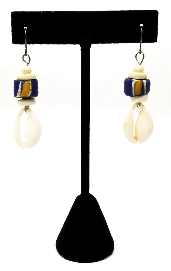 Njano Bluu Earrings