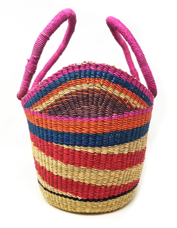 Multicolored Petite Shopper