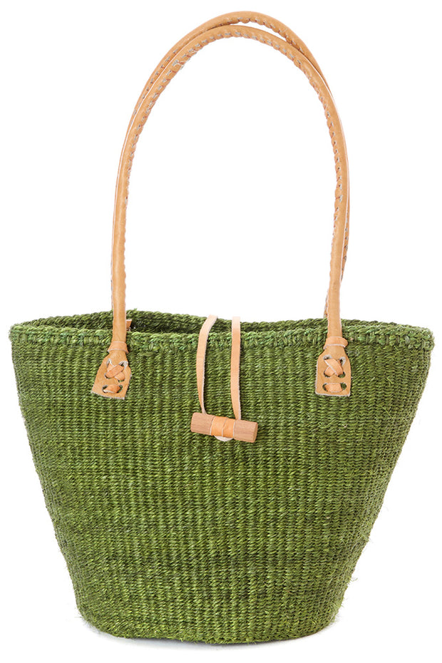 Green Sisal Handbag