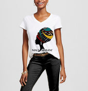 MaliMasani V-Neck T-Shirt - Color