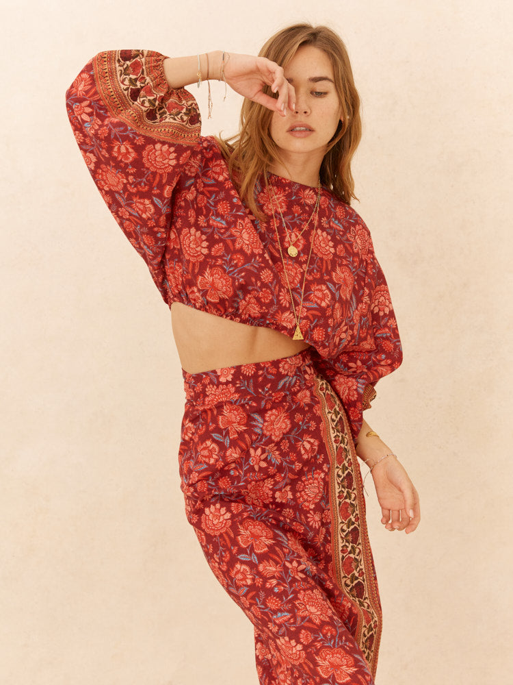PETRA FULL SLEEVE CROP