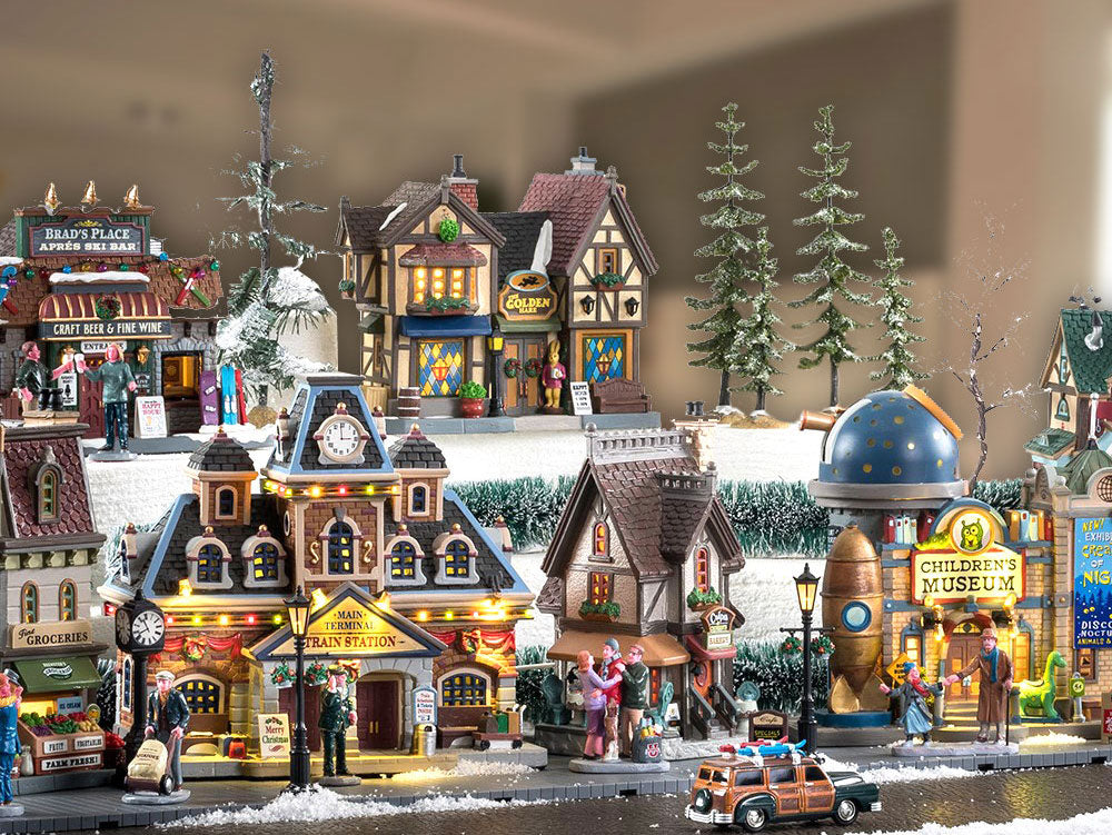 Lemax Christmas Village Lighted Buildings