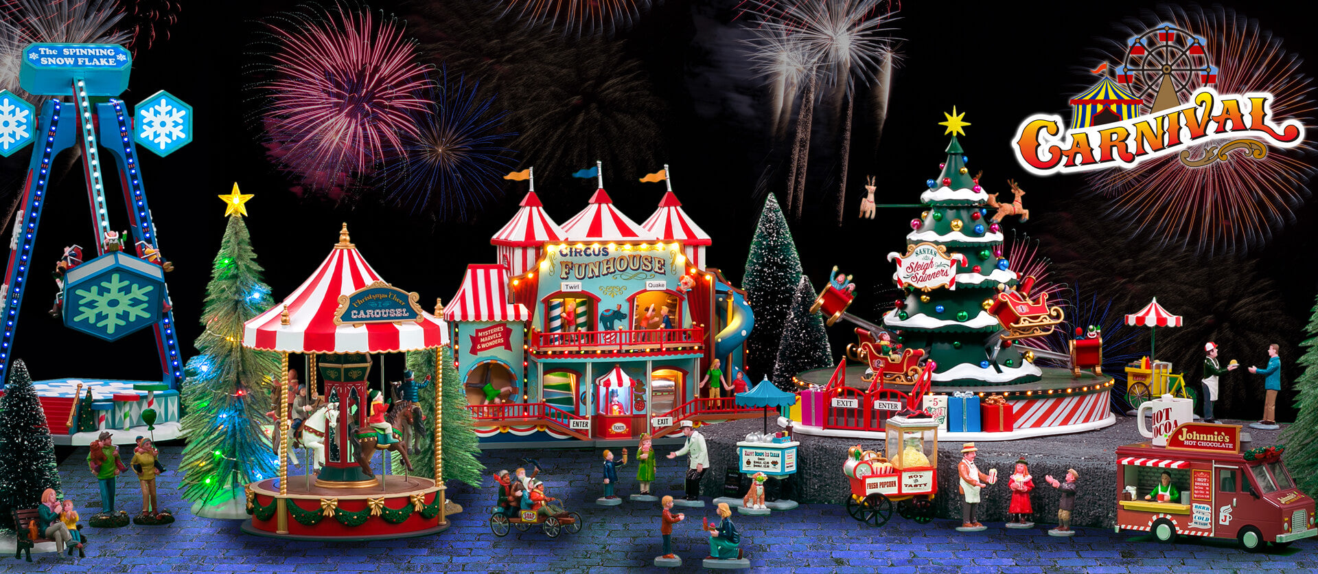 Carnival Lemax Christmas Village Collection