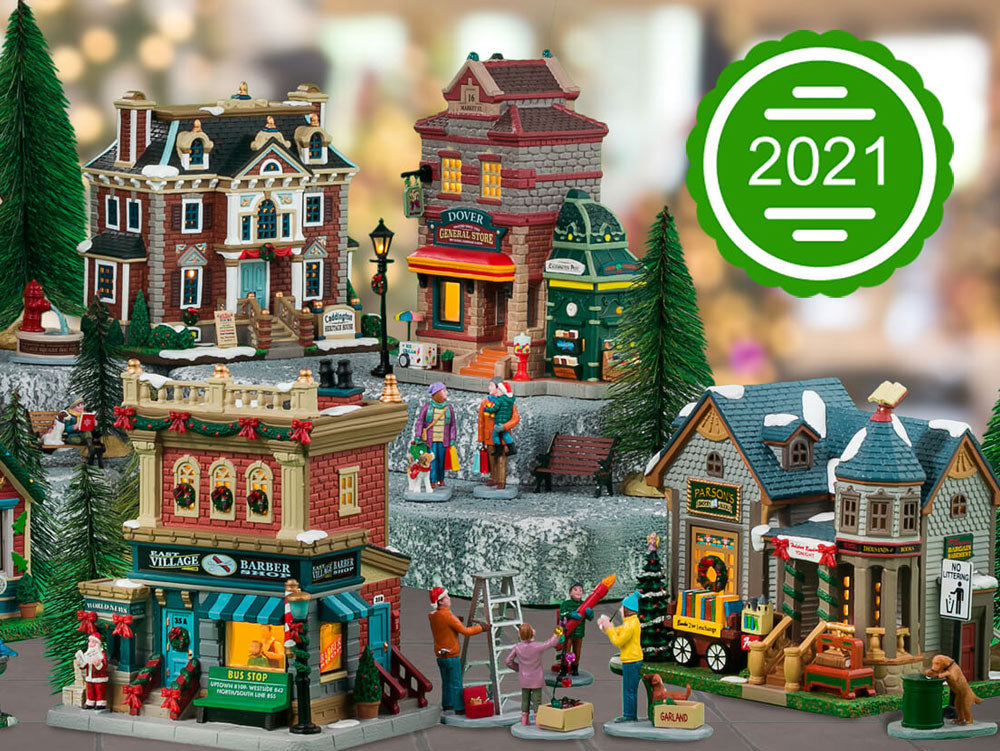 Lemax Christmas Village New for 2021