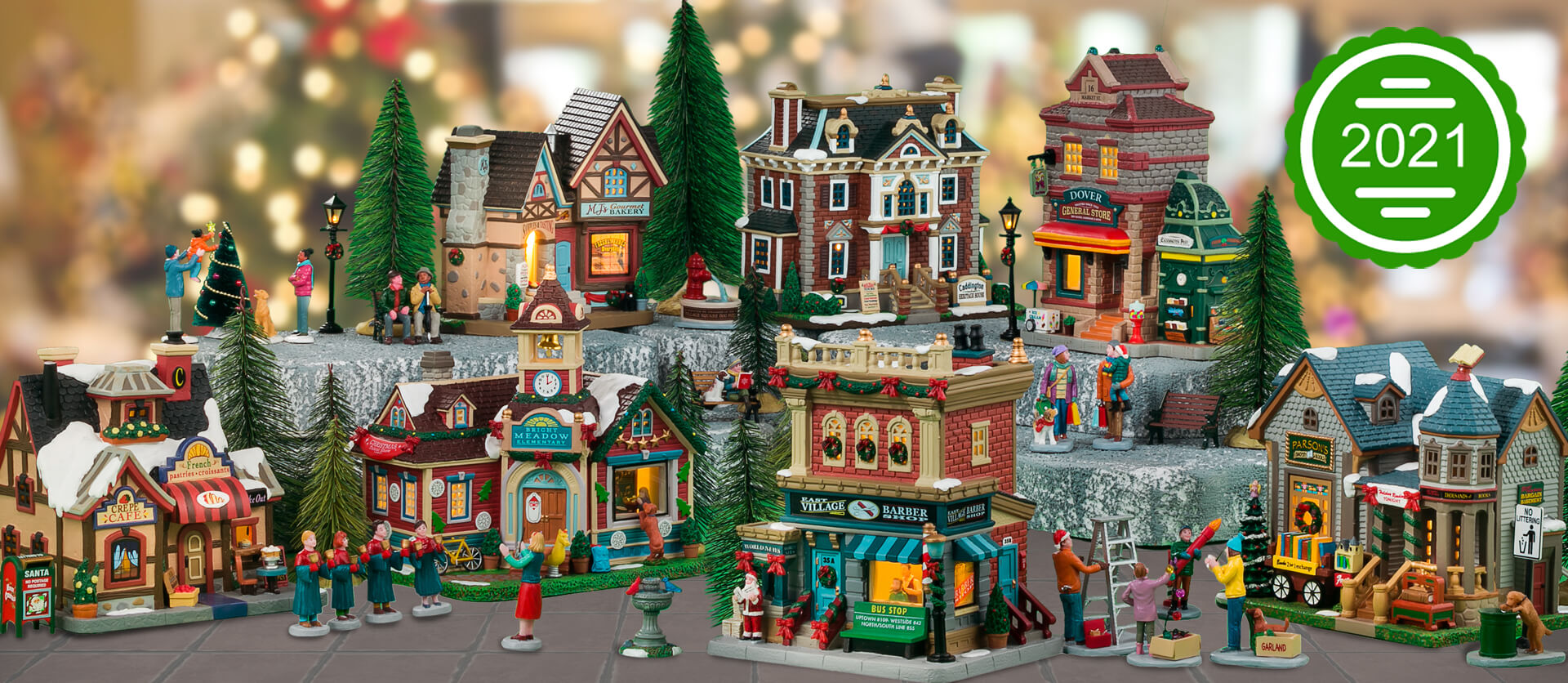 New for 2021 Lemax Christmas Village