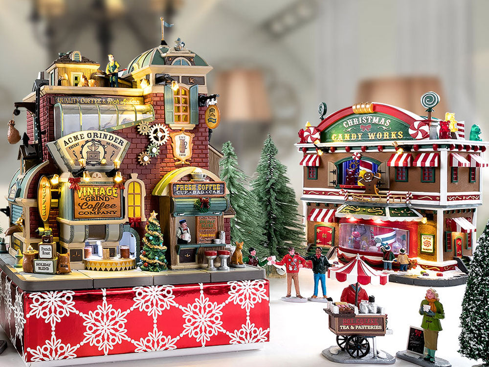 Lemax Christmas Village Sights and Sounds