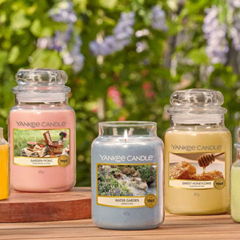 Candle Large Jars