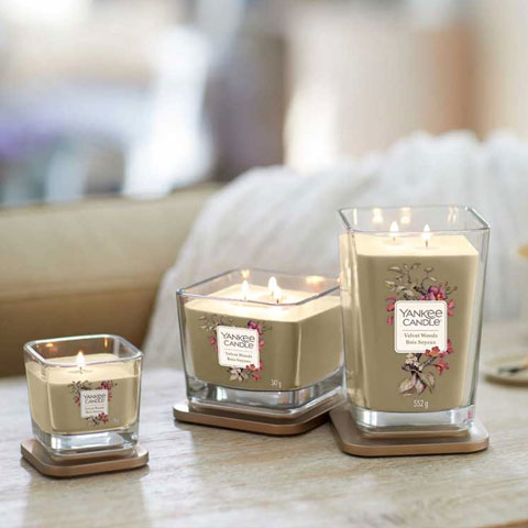 Yankee Candle Square Candles