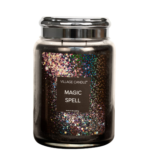 Magic Spell Village Candle Large Jar