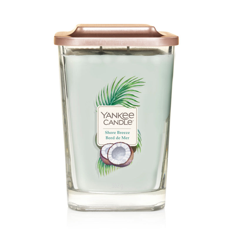 Shore Breeze LArge Yankee Square Candle