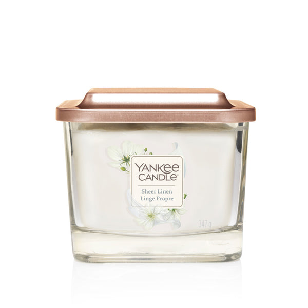 Sheer Linen Yankee Square Candle