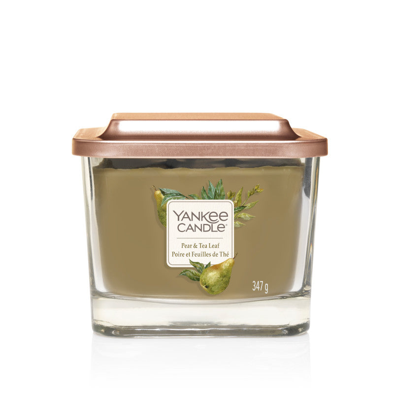 Pear & Tea Leaf Yankee Medium Square Candle