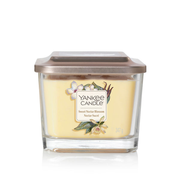 Sweet Nectar Blossom Yankee Medium Square Candle