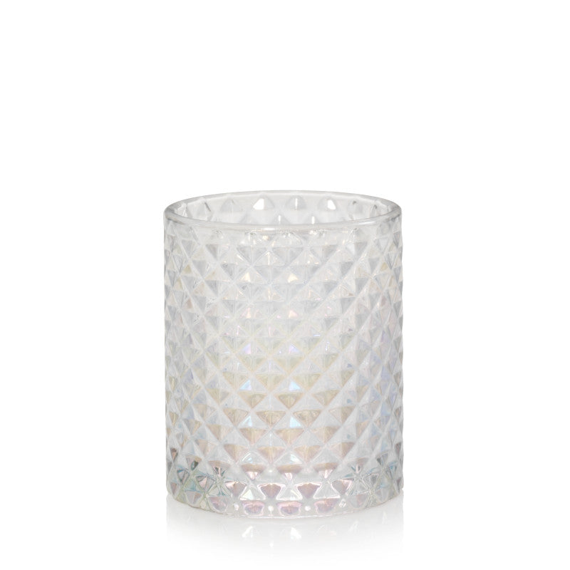 Langham - Faceted Glass Votive Holder Yankee