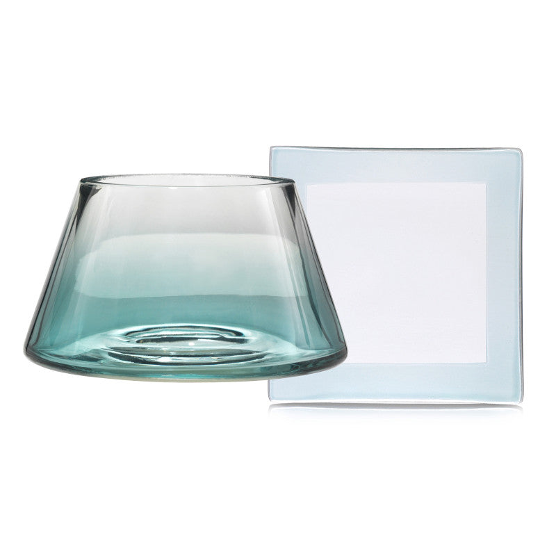 Savoy Teal Small Yankee Candle Shades & Trays