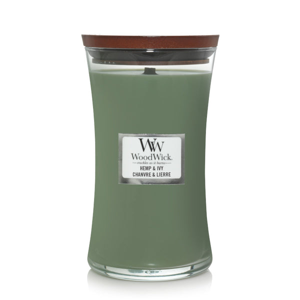 Hemp & Ivy Large Jar Woodwick