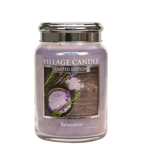 Relaxation Spa Village Candle Large Jar