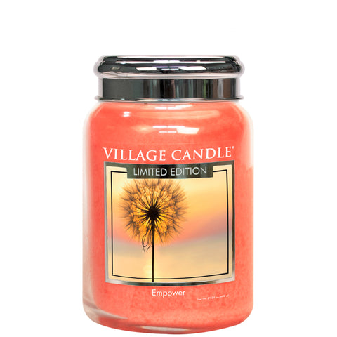 Empower Spa Village Candle Large Jar