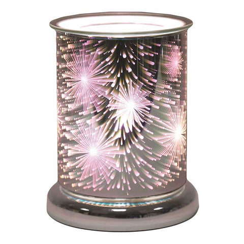Supernova 3D Cylinder Electric Wax Melt Burner