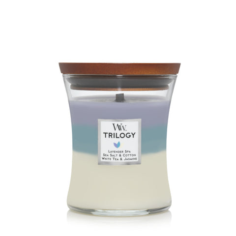 Calming Retreat Medium Trilogy Jar Woodwick