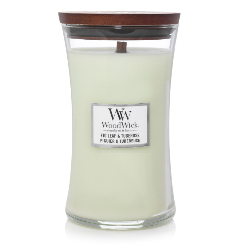 Fig Leaf & Tuberose Large JAr Woodwick