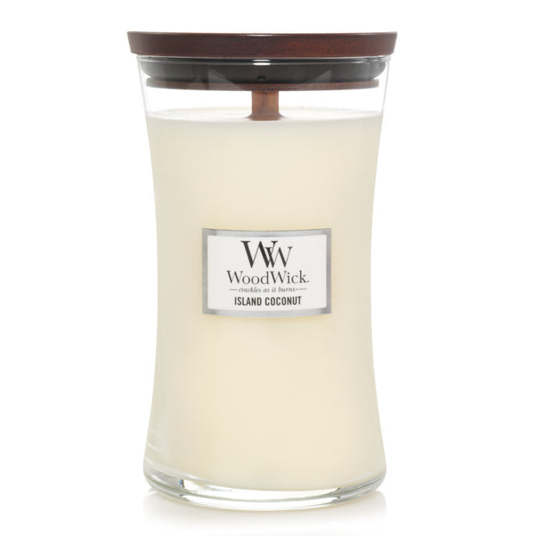 Island Coconut Large Jar Woodwick