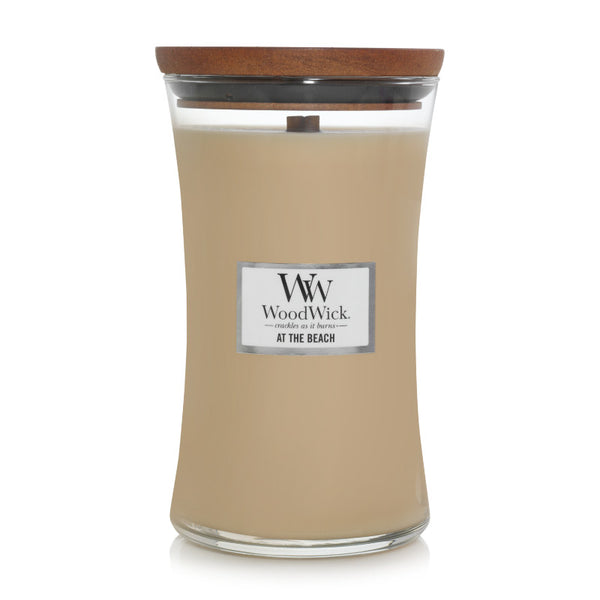 At The Beach Woodwick Large Jar Candle