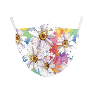 Children's Flowers Reusable Face Mask