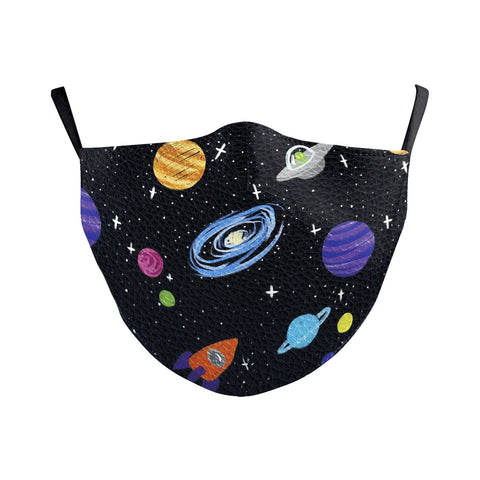 Children's Black Hole Universe Reusable Face Mask
