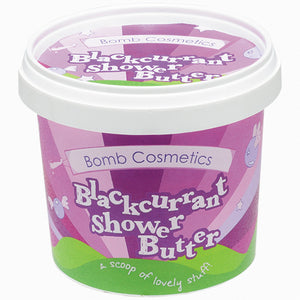Blackcurrant Cleansing Shower Butter Bomb Cosmetics
