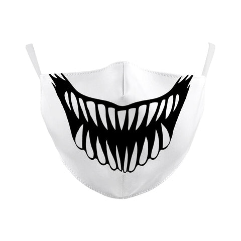 Big Gnashers Reusable Face Mask