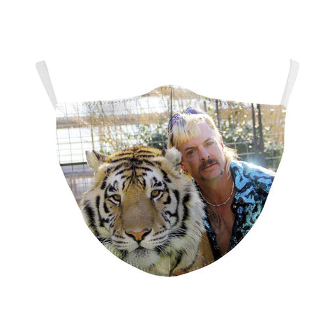 Joe with Tiger Reusable Face Mask