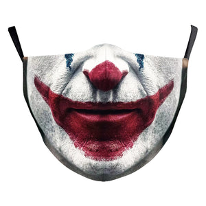 Clown Reusable Face Mask