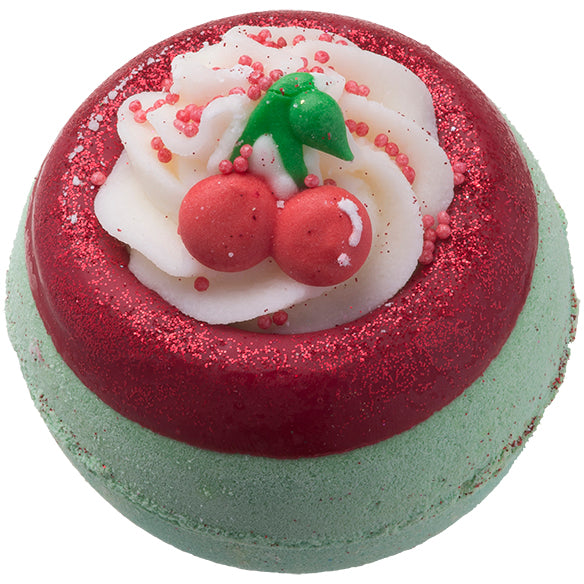 Cherry on Top Bath Blaster by Bomb Cosmetics