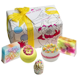 Colourful Bath Bomb and Soap Gift Box Bomb Cosmetics
