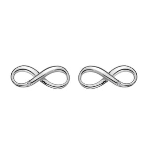 Fresh Infinity Earrings Hot Diamonds Jewellery